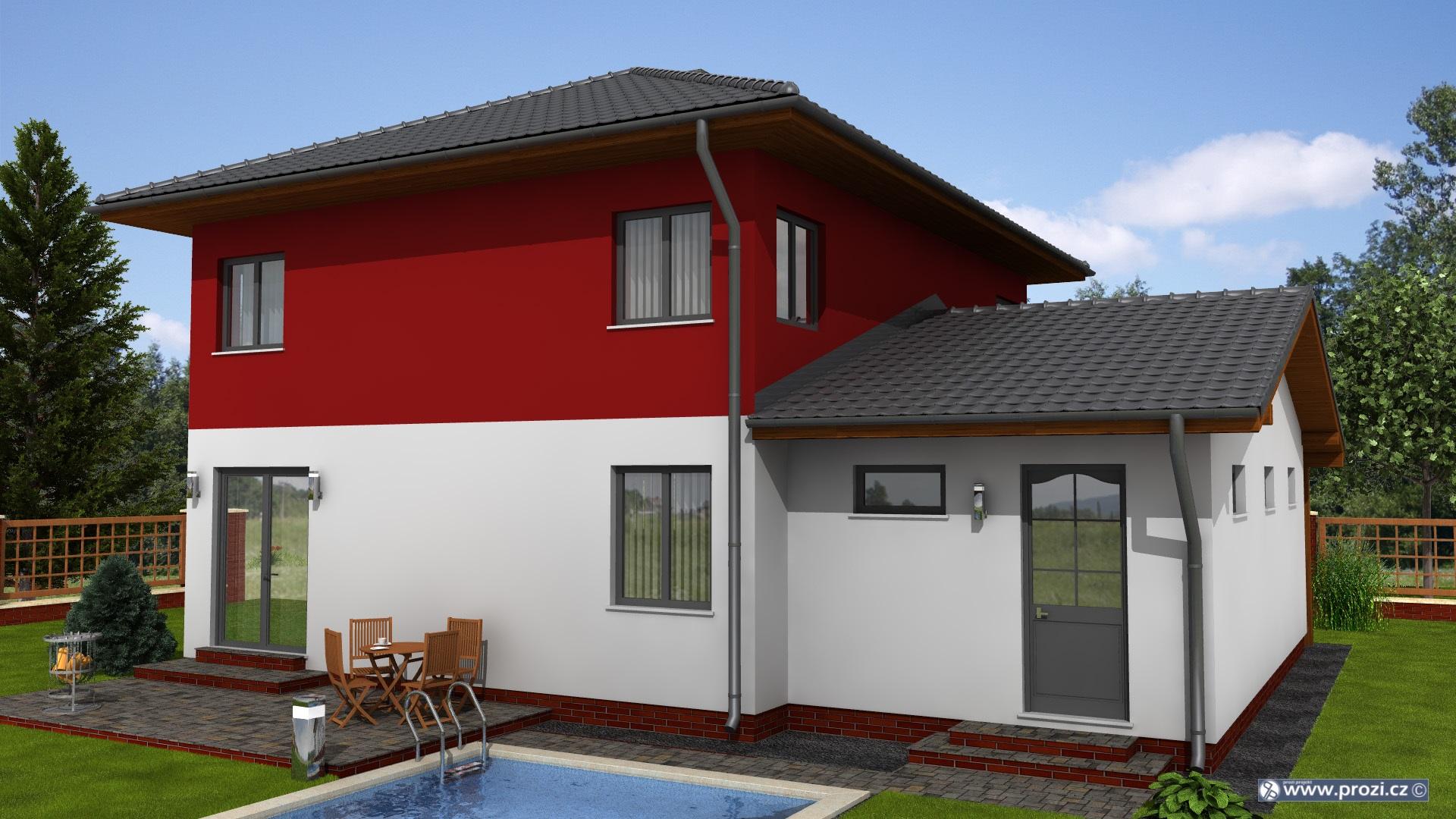 kvalitn projekty rodinn ch dom jsou z klad i l nky. Black Bedroom Furniture Sets. Home Design Ideas